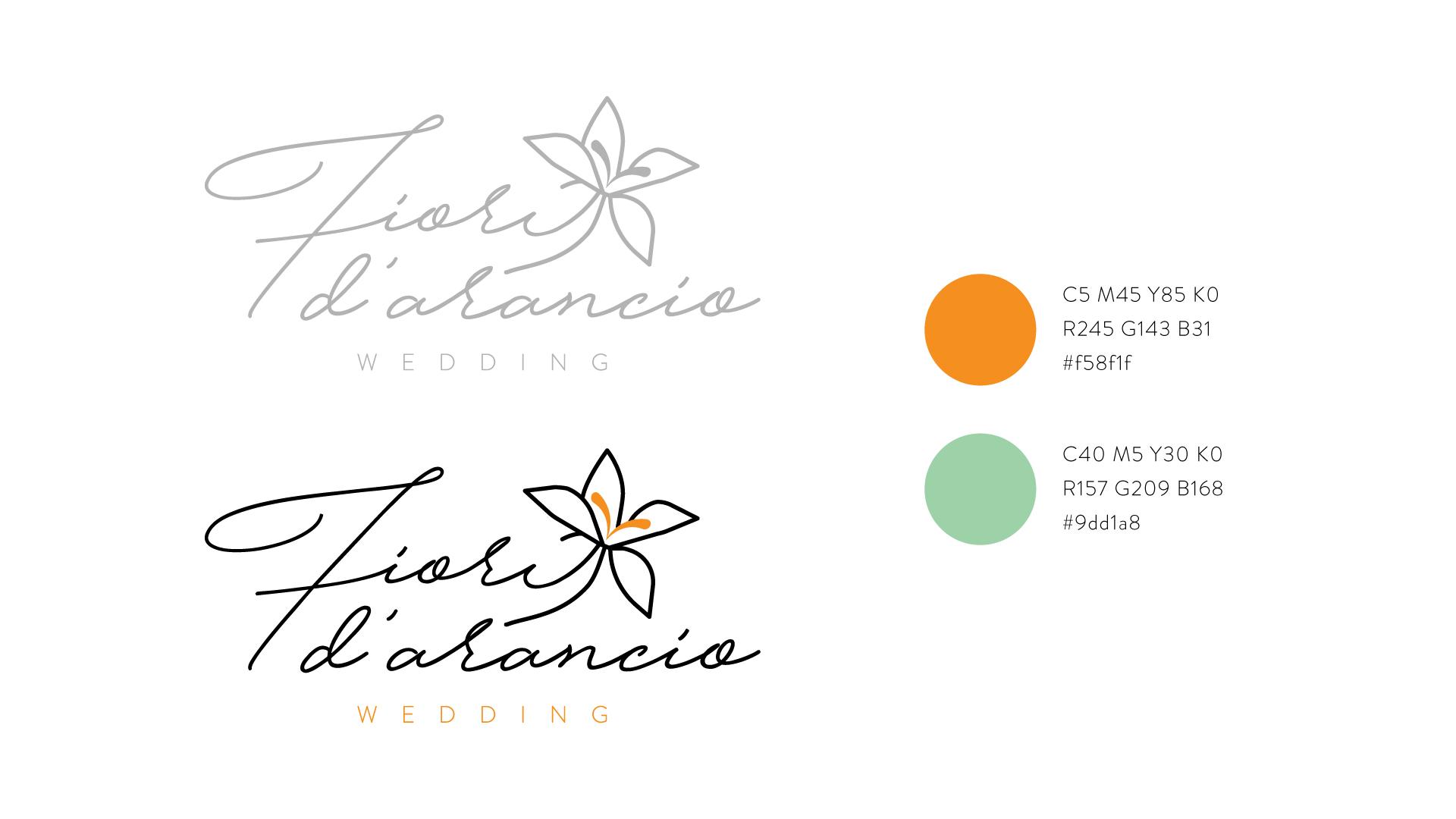 Logo e colori Fiori d'Arancio