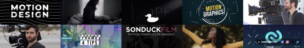 Sounduck motion design youtube