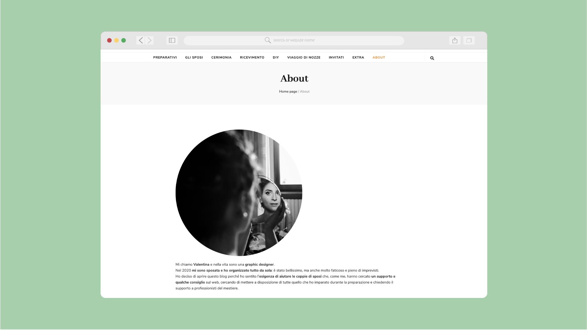 Fiori d'Arancio Website